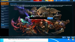 Riscatta codici League of Legends nel LoL-online store