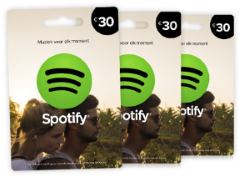 Compra Spotify Gift Card