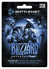 Buy a Battle.net Gift Card online, safe and secure.