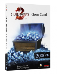 Compra Guild Wars 2 Gem cards online
