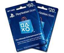 Buy your PSN Gift Card online