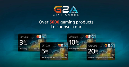 Nieuw: G2A Gift cards