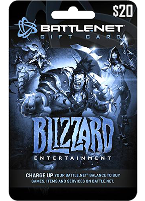 Battle.net giftcards