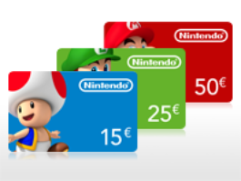 Buy your Nintendo Card online