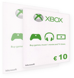Buy your Xbox Gift Card online